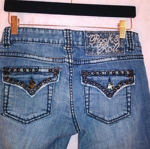 Rock & Roll Cowgirl jeans sz 27x34